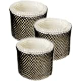 HQRP 3-Pack Filter Compatible with Walgreens 890-WGN 890WGN Cool Mist Humidifier, W889-WGN Replacement