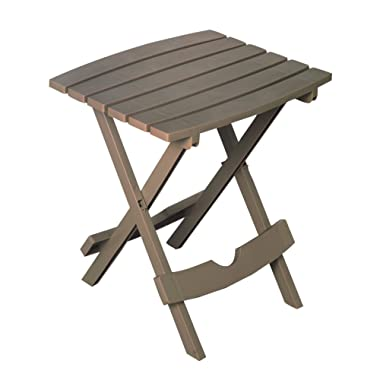 Adams Manufacturing 8500-96-3731, Portobello 8500-96-3700 Plastic Quik-Fold Side Table, Portobe