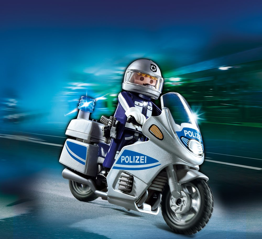 Cranbury 5185 B0077QT5S8 PLAYMOBIL/® Police Motorcycle Playmobil