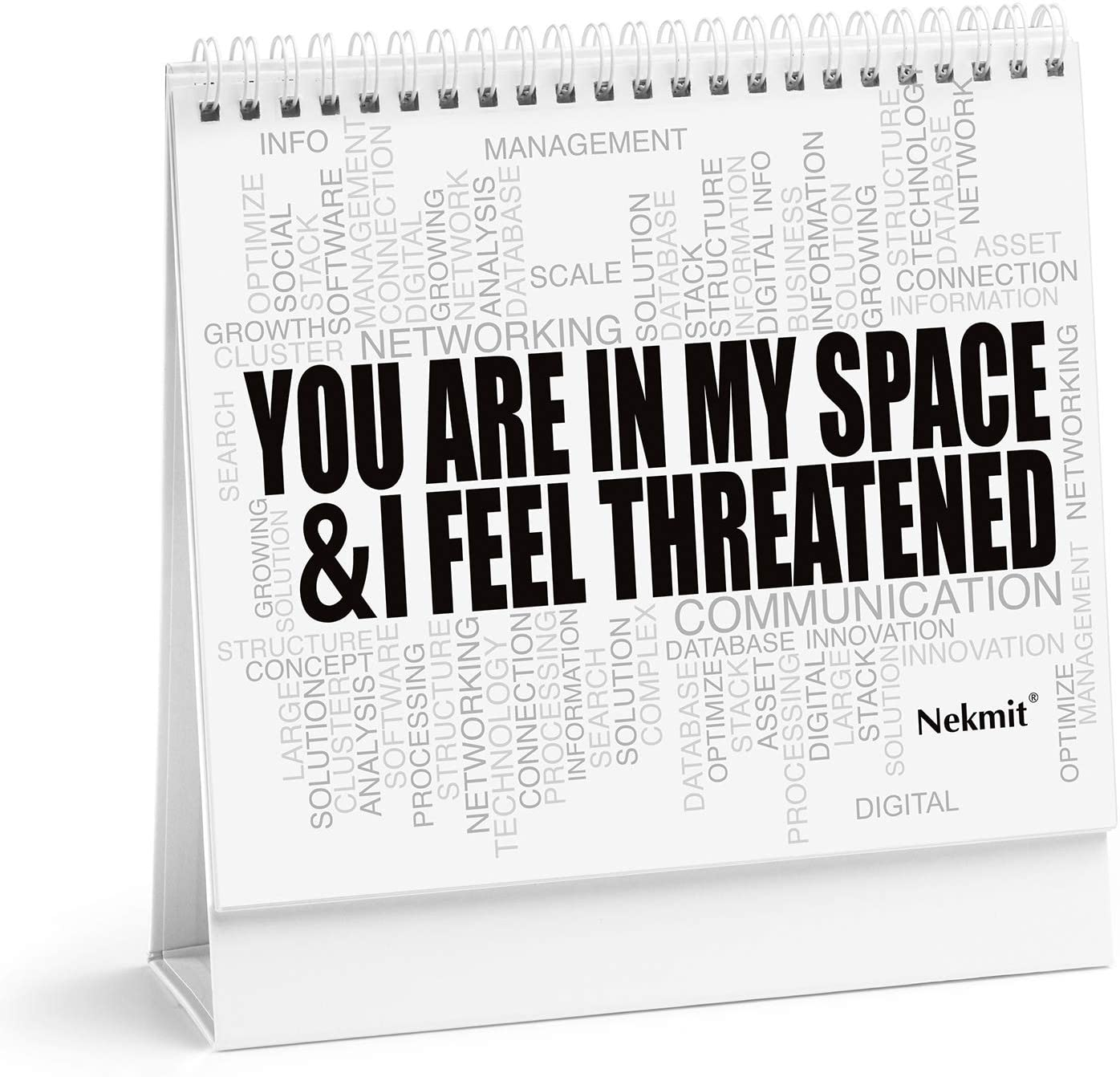 Funny Office Mood Cards for Business Workplace- Gift Box Included, 15 Hilarious Messages and Emotions, with Blank Boards for Personalized Messages