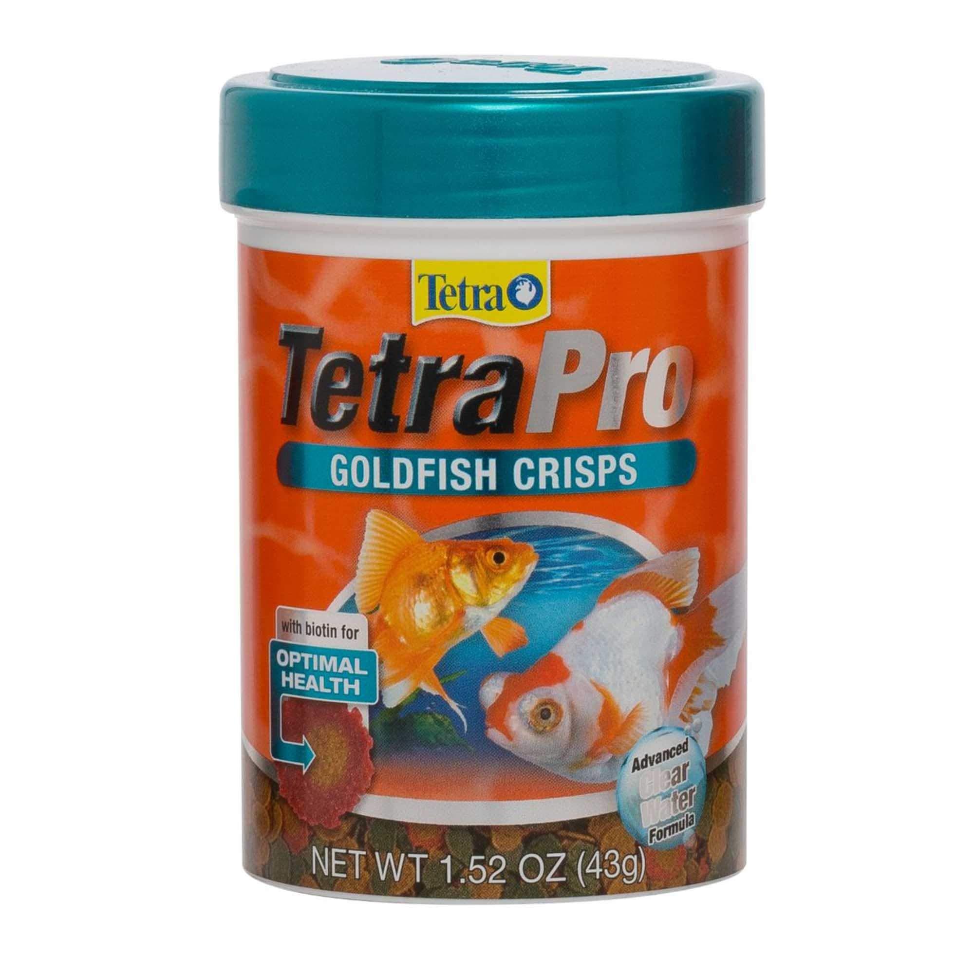 Tetra 77074 TetraPRO Goldfish Crisps for Fishes