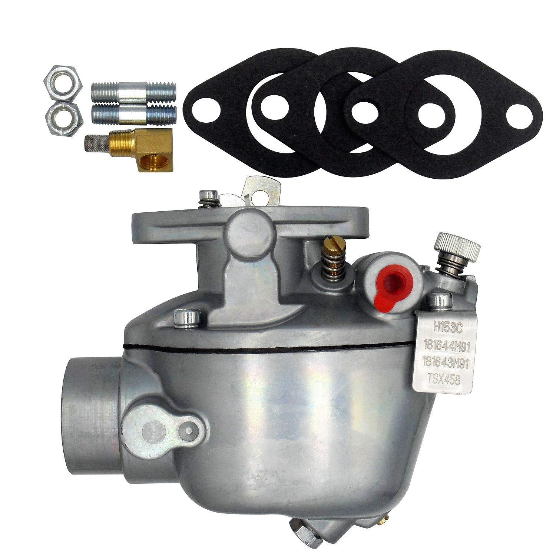 181643M91/Carburetor/for/Massey Ferguson 181644M91 517903M91 773322M91 TE20 TO20 TO30 Replaces Marvel-Schebler TSX458 TSX361A TSX248 TSX272 TSX312 TSX361