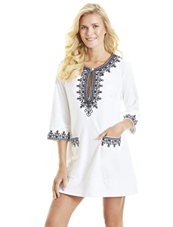 bc625e98bc Cabana Life Women s Coastal Crush Tunic  Amazon.co.uk  Sports   Outdoors