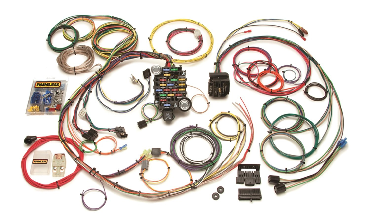 Painless Wiring And Chassis Harness 20101 18 Circuit Kit Automotive