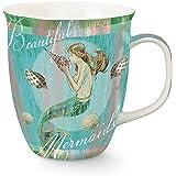 Mermaid Dreams Coffee or Tea Ceramic Mug by Cape Shore