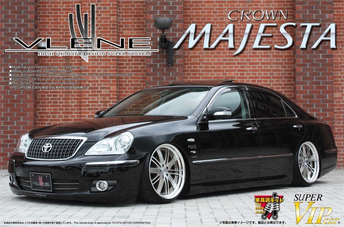 18 Majesta Late Model 1 24 Super VIPCAR No.88 Brain ES Premium (japan import)
