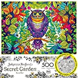 Buffalo Games - Johanna Basfords Secret Garden - Forest Owl - 500 Piece Jigsaw Puzzle