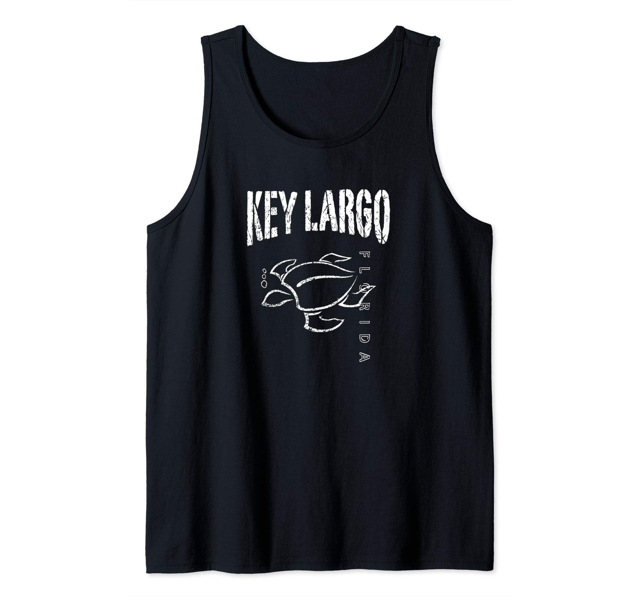 Key Largo Florida Souvenir Vacation Gift Sea Turtle Tank Top by KEY LARGO Souvenir Gift Florida Sailing FL