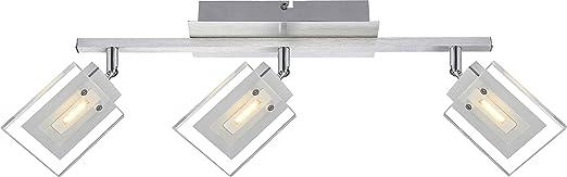 15W LED Deckenleuchte Wohnzimmer Esszimmer Lampe Leuchte Aluminium Globo AURELE 56204 3