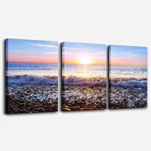 Wall Art For Living Room Blue Ocean Sea Canvas Wall Decor for Home artwork Painting 16