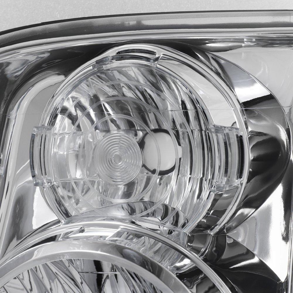 For Gmc Yukon Xl Denali Clear Headlights Headlamps Wiring Diagram Free Download Replacement Slim Ballast 8000k White Blue Hid Automotive