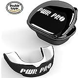 Mouth Guard – Premium Gum Shield – Professional Boxing Teeth Guard – MMA Advanced Gum Guard –Teeth Guard for Rugby Muay Thai Hockey Judo Karate Martial Arts for Men - Kids - Women - Best Teeth Protection