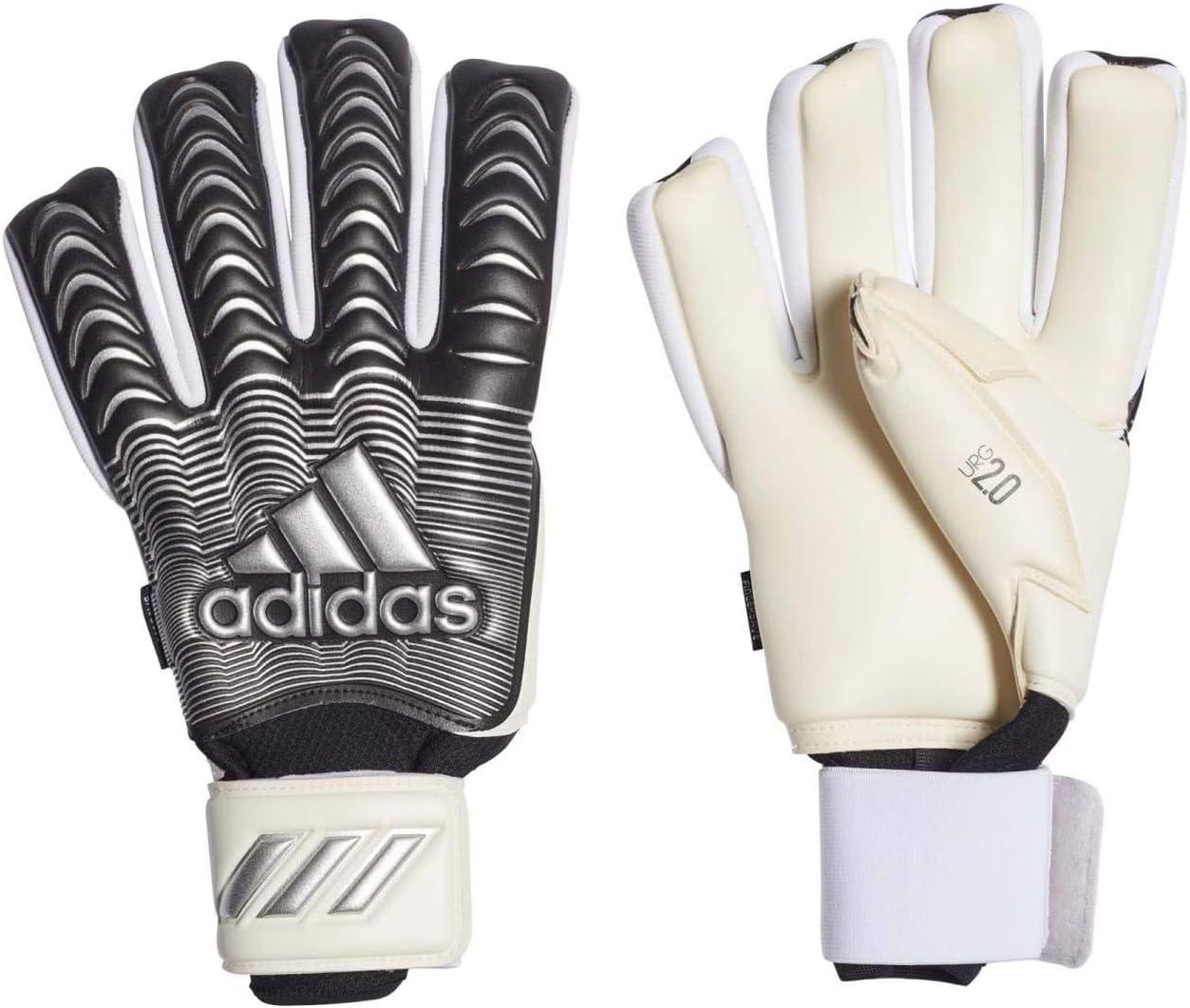 Amazon.com : adidas Classic PRO FINGERSAVE Goalkeeper Gloves ...