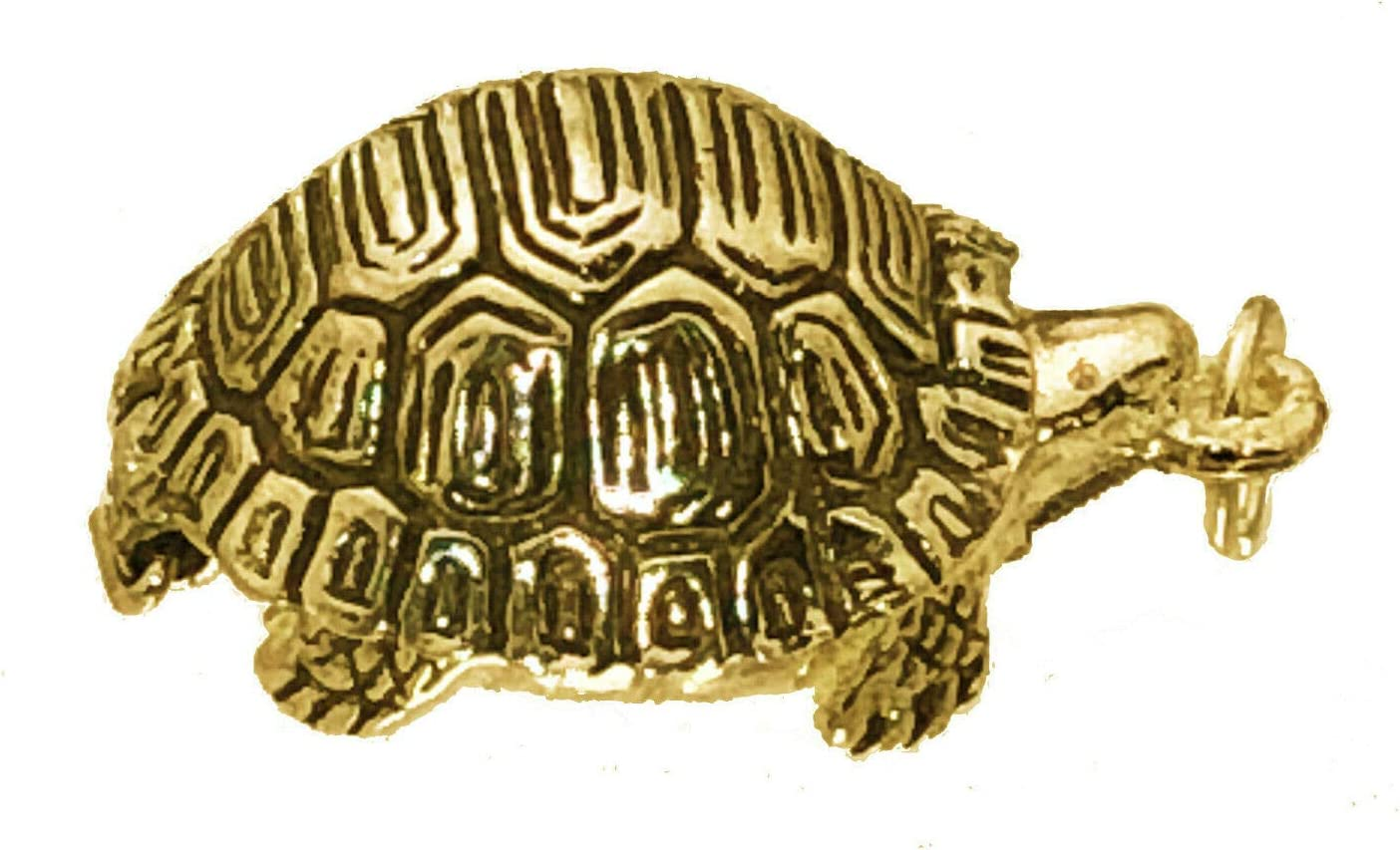 TORTOISE TURTLE 3D CHARM 925 STERLING SILVER