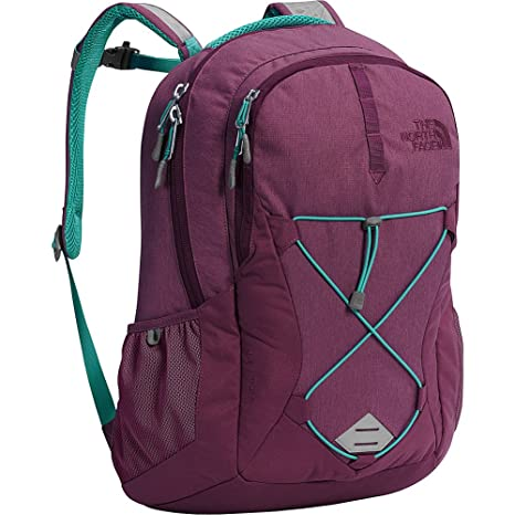 085ed0ff30 The North Face Women s Jester Backpack One Size Amaranth Purple Light  Heather Vistula Blue - (