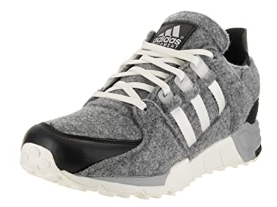 buy online 77bbf 15b87 adidas Mens Equipment Running Support GreyBlack-White Wool Size 8