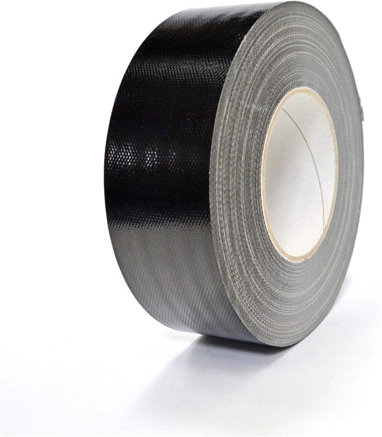 50mm x 50M, Vert Fluo Gaffeur ruban adh/ésif toil/é
