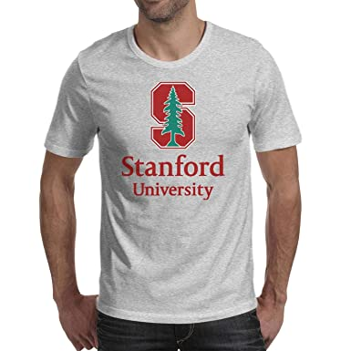 a09aef6a9 Amazon.com: TONGZIRT Graphic Mens T Shirt Stanford-University-Logo ...