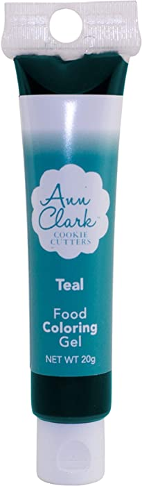 Ann Clark Cookie Cutters Teal Food Coloring Gel, 20g