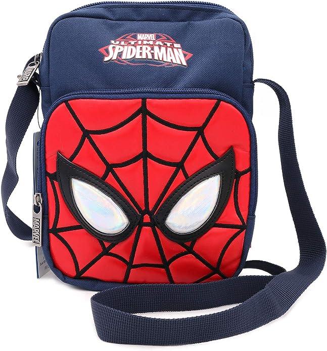 Spiderman Personalised Shoulder Messenger Bag Birthday Gift ipad Mobile Phone