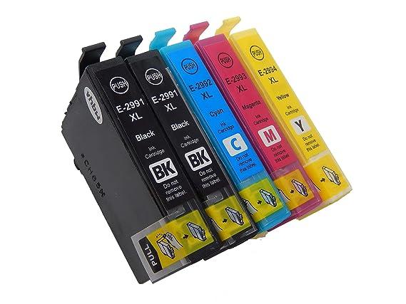 vhbw Cartucho de impresión Cartuchos de Tinta Set para Impresora ...