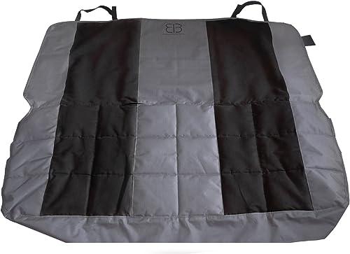 Petego EB Velvet Multi-Fabric Front Seat Protector, Anthracite-Black