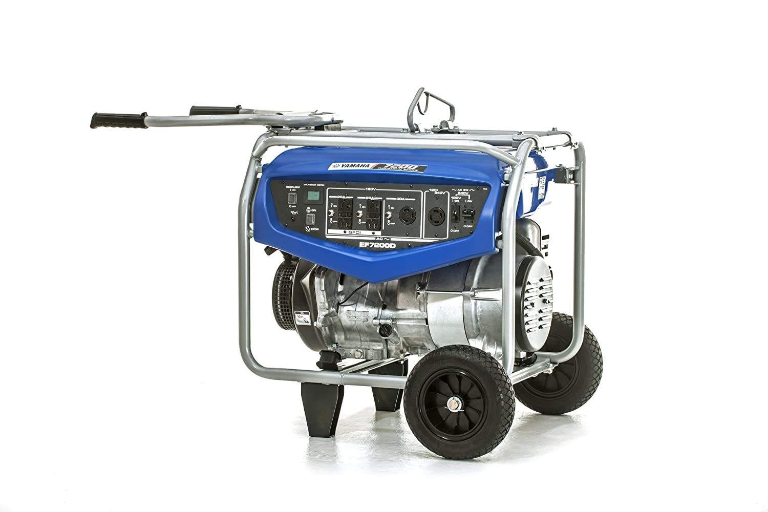 7200-watt Yamaha EF7200D Generator with Manual Start