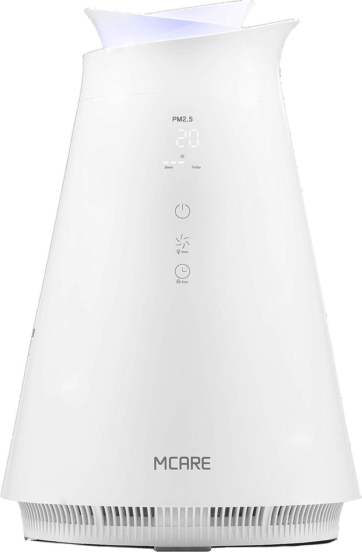 Moneual Pro Care MA600 - Purificador de aire con iluminación ...