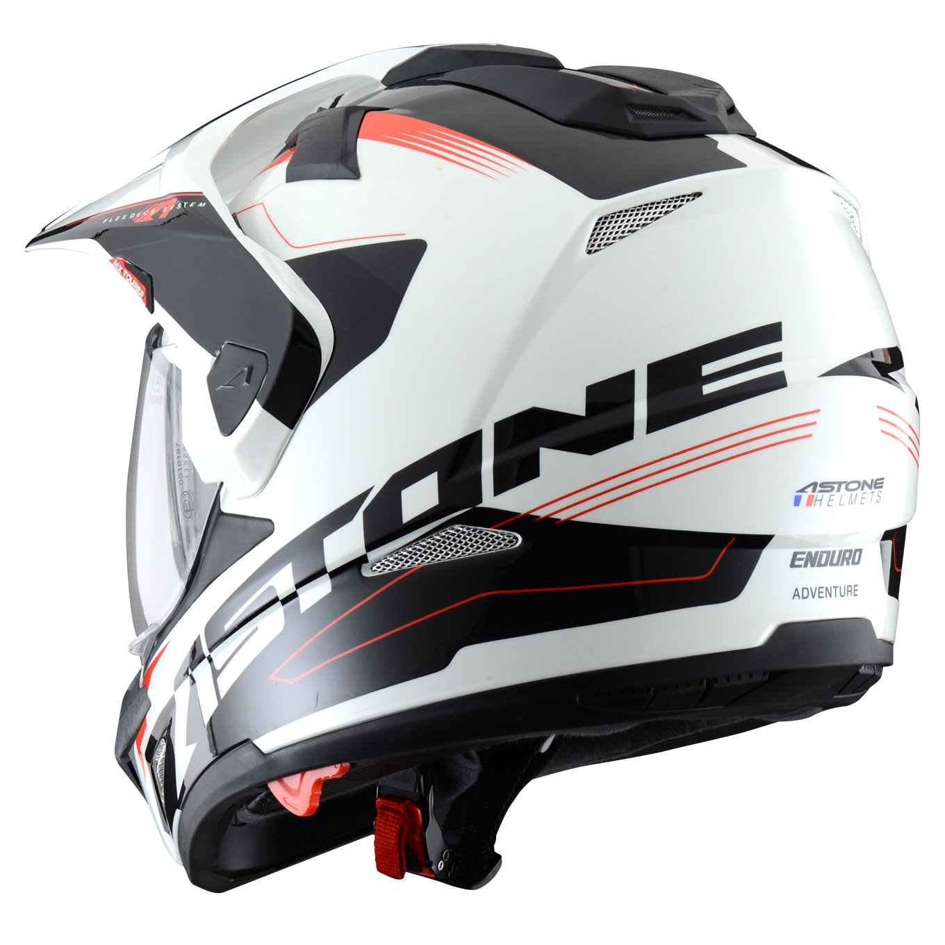 Astone Helmets Tourer Adventure, color Rojo, talla S: Amazon.es: Coche y moto