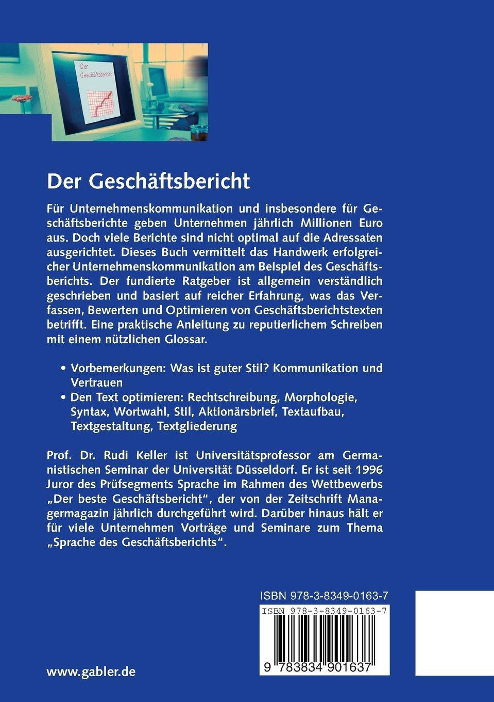 Der Geschäftsbericht: Überzeugende Unternehmenskommunikation durch ...
