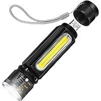 Linterna LED, Cofuture Literna de Mano 4 Modos