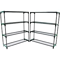 Oypla Fleur Staging Affichage Serre Racking Rayonnage Double Pack