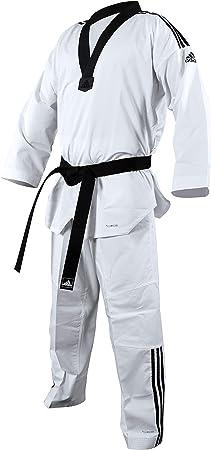 Continuar Peregrino Forzado  Amazon.com: adidas Taekwondo Fighter III Dobok: Clothing