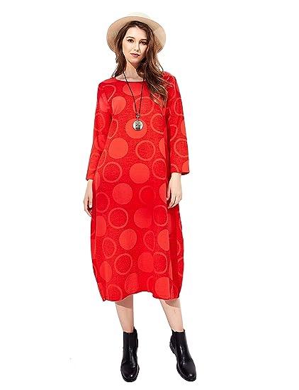 da84e263c4b32 HÖTER Women's Qipao High Split Slim Dress Printed Sleeveless Vintage  Chinese Silk Cheongsam