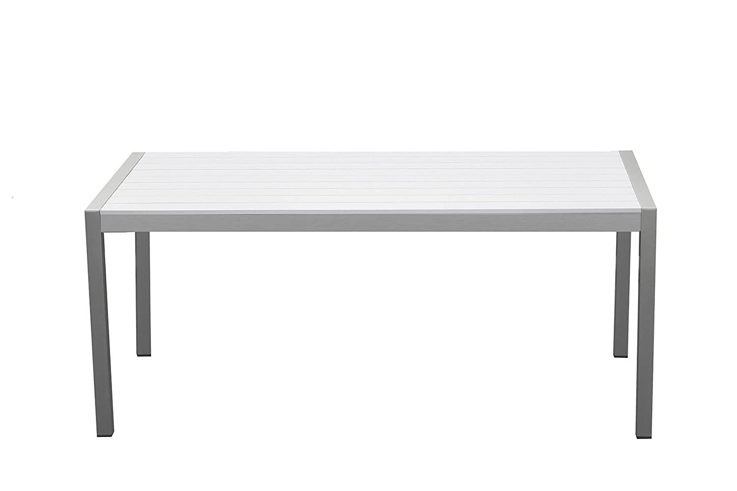 Pangea Home David Dining Table, White