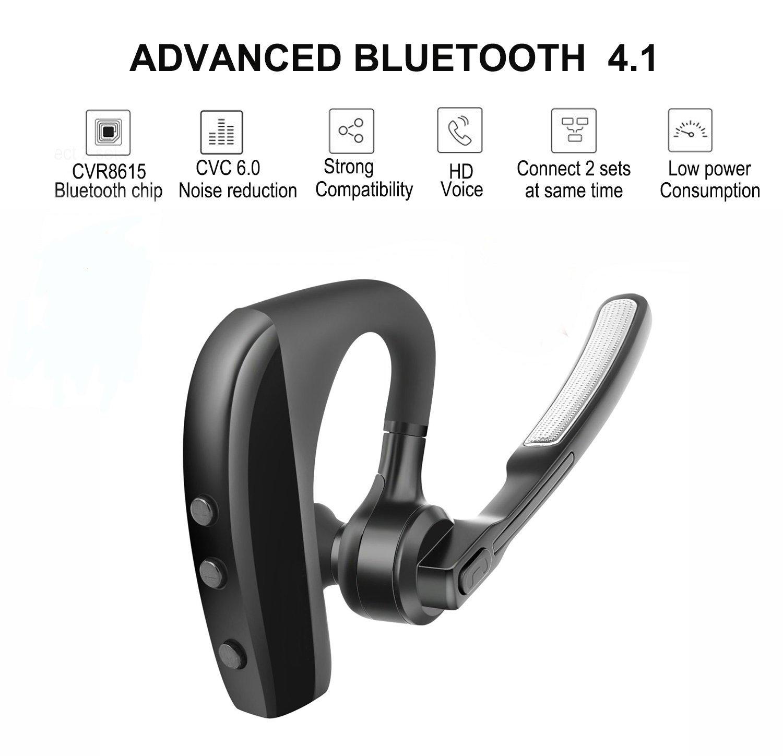 Bluetooth Headset,Wireless Hands Free Bluetooth In Ear