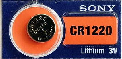 Sony Lithium 3 V Batteries Size Cr1220 Elektronik