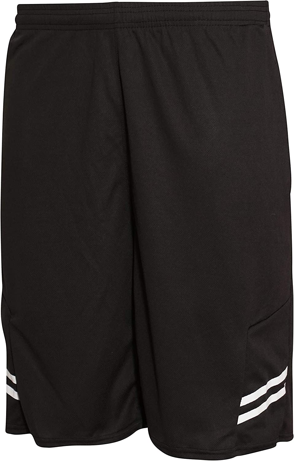 Real Essentials Boys' 5-Pack Mesh Active Athletic Performance Basketball Shorts with Pockets: Clothing