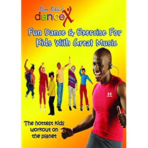 DanceX Fun Dance Exercise DVD For Kids With Great Music