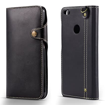 factory price ab4ea 6b8c2 Amazon.com: Huawei Honor 8 Lite PU - Shell Wallet case Wallet Style ...