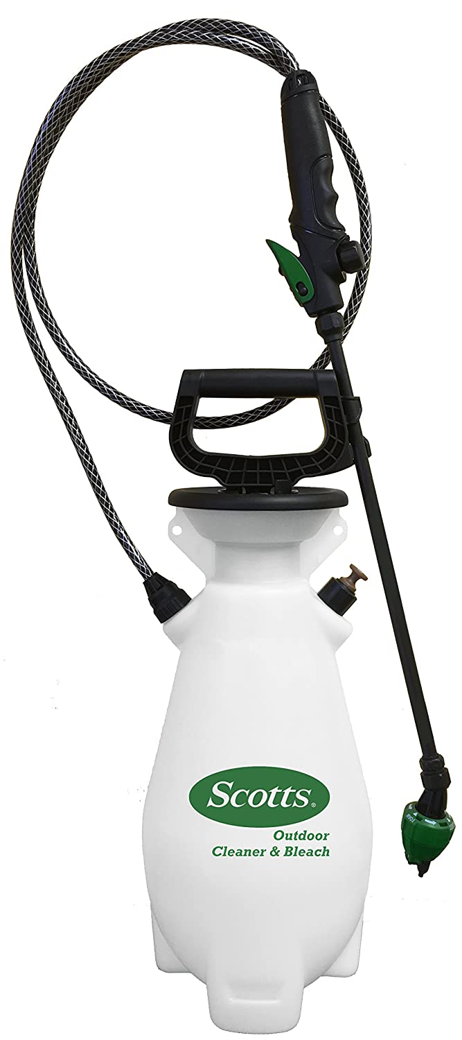 Scotts 190531 Outdoor Cleaner and Bleach Sprayer, 1 gallon