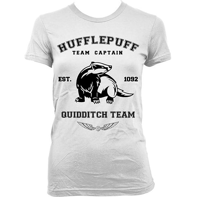9206Lw Hufflepuff Team Womens T-Shirt Harry Potter ...