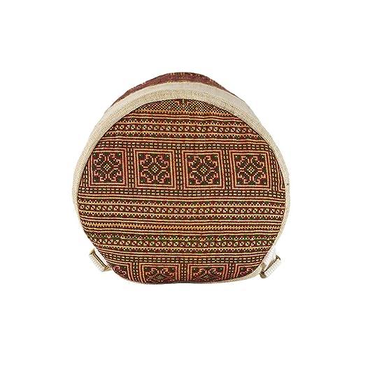 c601563776 virblatt zaino 100 % canapa, borsa a spalla con motivi tessuti a mano dalla  tribù di montagna asiatiche, borse uniche fatte in canapa come ...