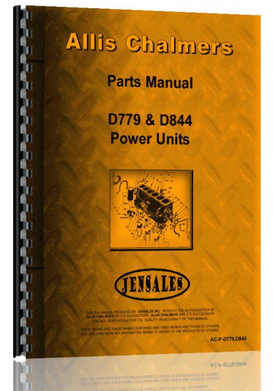 Download Allis Chalmers D779 Engine Parts Manual ebook