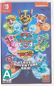 Patrulha Canina Mighty Pups Save Adventure Bay - Nintendo Switch