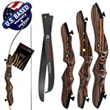"Southwest Archery Tiger Takedown Recurve Bow – Compact Fast Accurate 48""- 62"" Target & Frist Bow – Right & Left Hand – Draw Weights in 14-29 lbs – Beginner to Intermediate - USA Company"