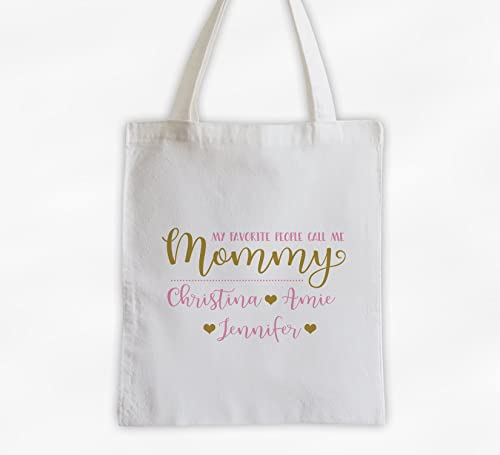 Mom Life Is The Best Life Tote Bag Canvas Tote Bag Custom Tote Bag Personalized Tote Bag