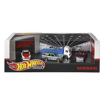 Hot Wheels Premium Collectors Nissan Set: Toys & Games