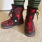 Amazon.com   SOREL Glacy Explorer Shortie Boot - Women's