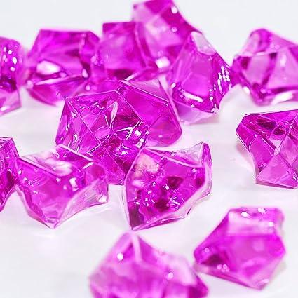 Amazon 2 Pounds Of Dark Purple Acrylic Ice Rock Vase Gems Or